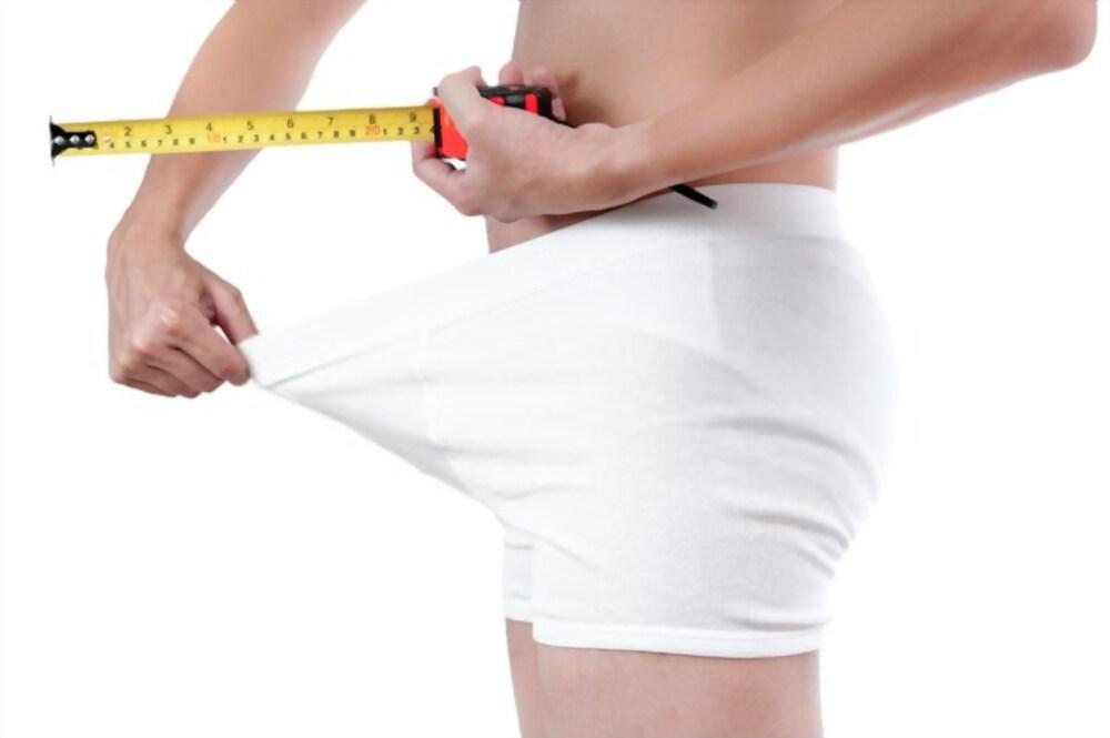 mesurer penis erection