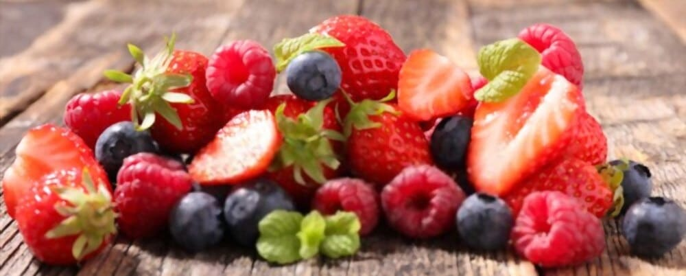 fruits rouges pour bander fort